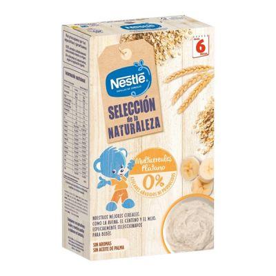 Nestlé Selección de la Naturaleza Papilla Multicereales Plátano 6 meses 330g