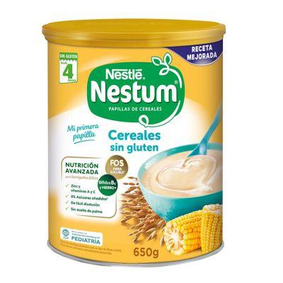 Nestle Nestum Papilla Cereales Sin Gluten 650g