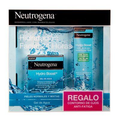 Neutrogena Pack Hidratación Facial 24 horas Hydro Boost Gel de Agua + Contorno Regalo