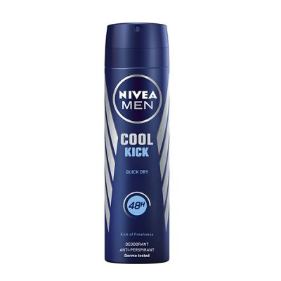 Nivea Men Desodorante Anti-transpirante Cool Kick 48h Spray 200ml