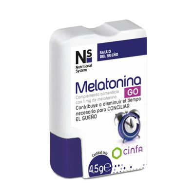 Ns Melatonina Go 60comp
