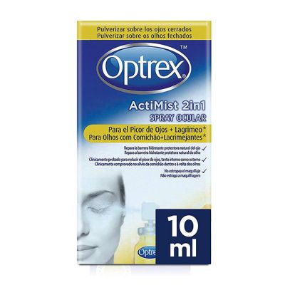 Optrex ActiMist 2en1 Picor + Lagrimeo 10ml