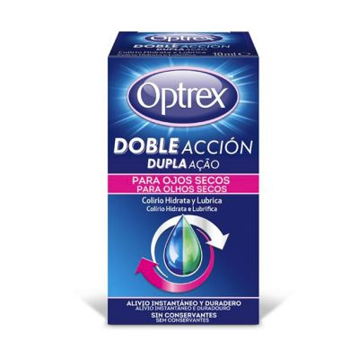 Optrex Doble Accion 10ml