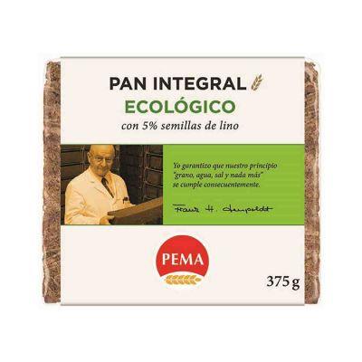 Pema Biocop Pan Integral De Centeno Ecológico Con Semillas De Lino