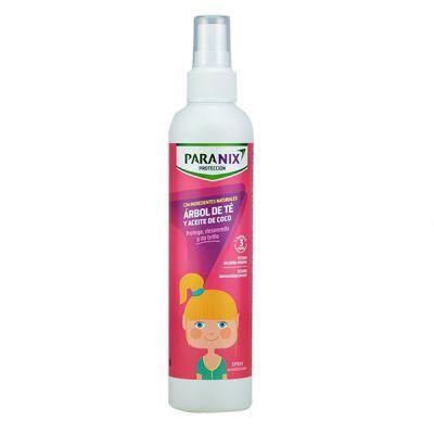 Paranix Protección Árbol de Té y Aceite de Coco Rosa spray 250ml