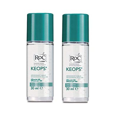 Roc Keops Desodorante Roll-On piel normal 48 horas duplo de 30ml