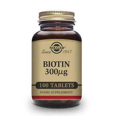 Solgar Biotina 300 µg 100 caps