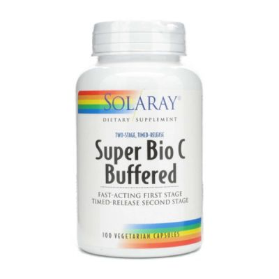 Solaray Super Bio C Bufferd 100caps