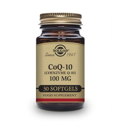 Solgar Coenzima CoQ10 100mg 30 caps Gelatina Blanda