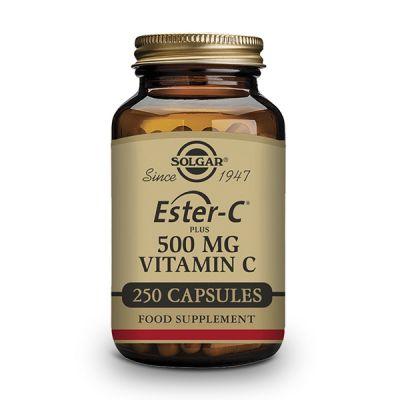 Solgar Ester-C Plus 500mg 250 caps Vegetales