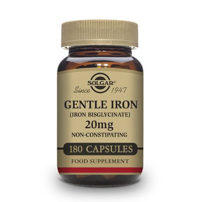 Solgar Hierro Gentle Iron 20mg 180caps