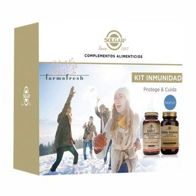 Solgar Kit Inmunidad Ester-C 100mg + Ultibio Immune