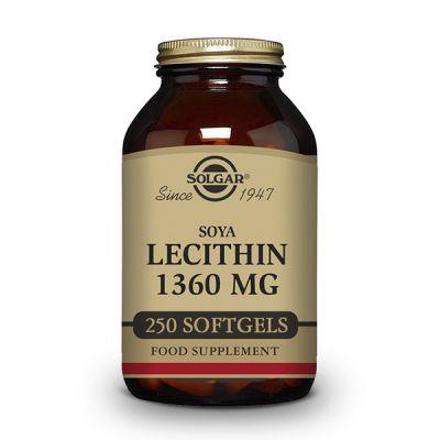 Solgar Lecitina Soja 1360mg 250 caps blandas