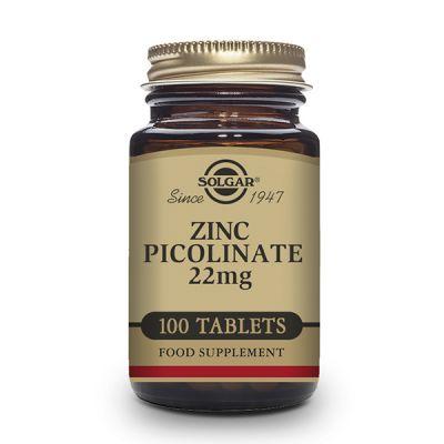 Solgar Zinc Picolinato 22mg 100 comp