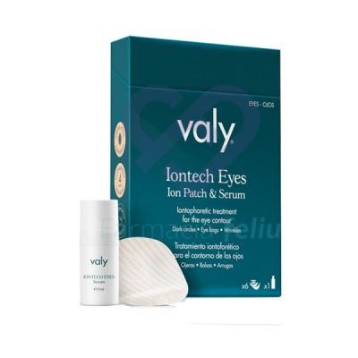 Valy Cosmetics Iontech Eyes Ion Patch and Serum