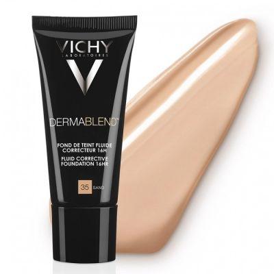 Vichy Dermablend Fondo de Maquillaje Fluido Corrector 35 Sand 30ml