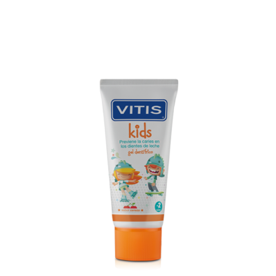 Vitis Kids Gel Dentifrico de 2 a 6 Años 50ml