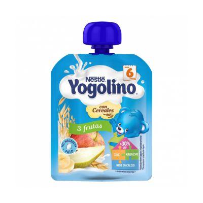 Nestle Yogolino Bolsita 3 Frutas con Cereales 90gr