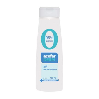 Acofarderm Gel Baño 0% 750ml