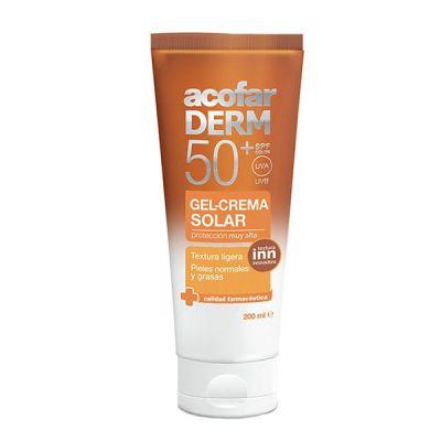 Acofarderm Gel-Crema Facial 50+ 50ml