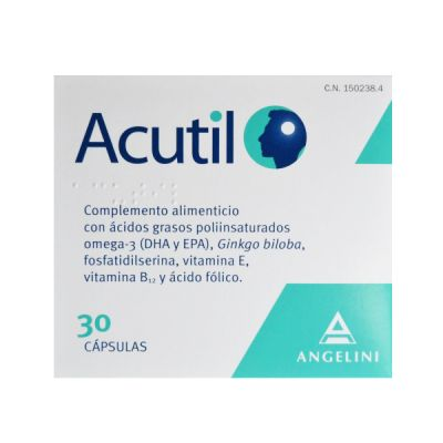 Angelini Acutil 30 Cápsulas