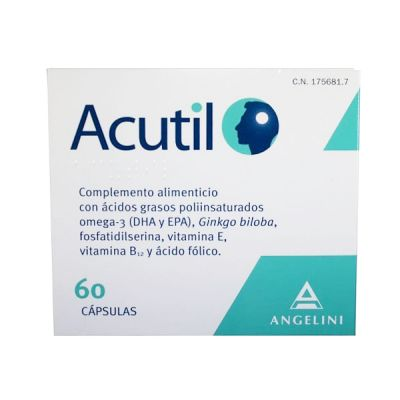 Angelini Acutil 60 Cápsulas