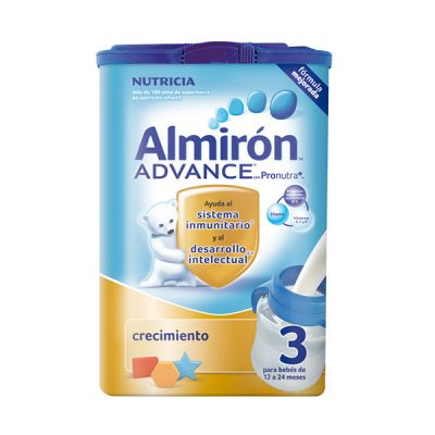 Almiron Advance  con Pronutra 3 Leche Crecimiento 800gr
