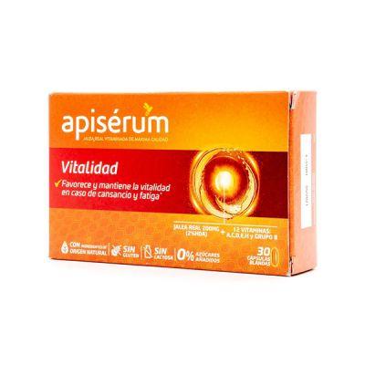 Apiserum Vitalidad Pack 3 meses 90 caps