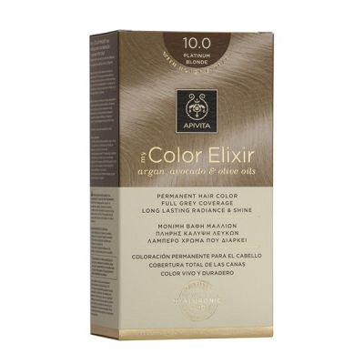 Apivita Tinte Rubio Platino Color Elixir 10.0
