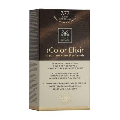 Apivita Tinte Rubio Arena Intenso Color Elixir 7,77