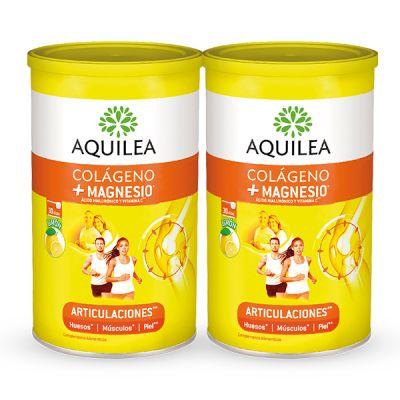 Aquilea Articulaciones Colágeno Magnesio 375g Pack 60 Días 2und 40% Sabor Limón