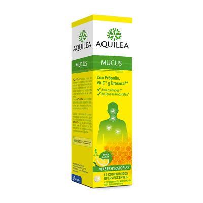 Aquilea Mucus 15 Comprimidos Efervescentes Sabor Limón