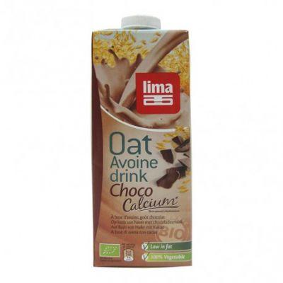 Lima Bebida Vegetal Avena y Chocolate Bio 1L