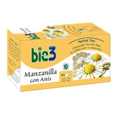 Bie3 Manzanilla con Anís 25 Filtros