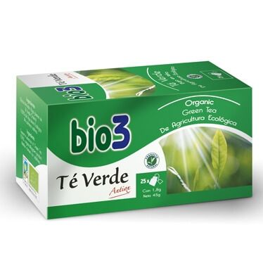 Bie3 Té Verde Bajo en Teína 25 Filtros