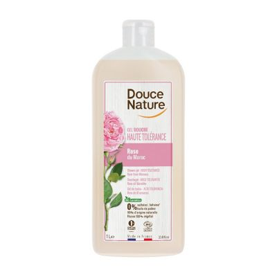 Biocop Douce Nature Gel Ducha Alta Tolerancia Rosa de Marruecos 1L