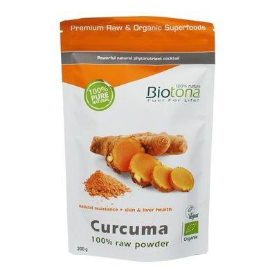 Biotona Curcuma 100% en Polvo 200g