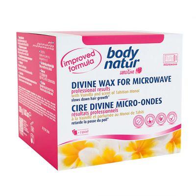 Body Natur  Sensitive Cera Divina Microondas  230gr