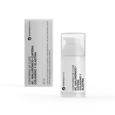 BotanicaPharma Contorno de Ojos Ácido Hialurónico y Cafeína 30 ml