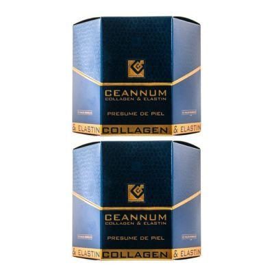 Ceannum Colageno y Elastina Duplo 10 + 10 viales