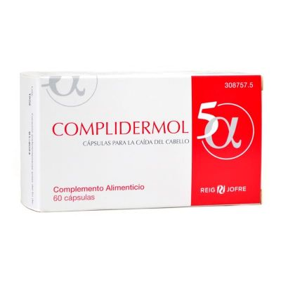 Complidermol 5 Alpha 60 cápsulas