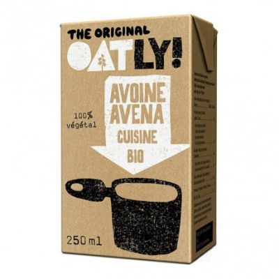 Oatly Bio Crema de avena ligera Cuisine 250ml