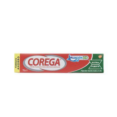 Corega Crema Fijadora para Prótesis Dentales Extra Fuerte 70gr