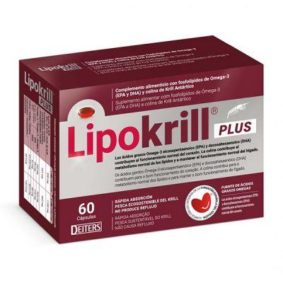 Deiters Lipokrill Plus 60caps