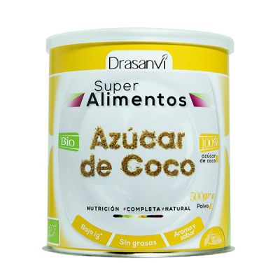 Drasanvi Super Alimentos Azucar de Coco 100% 500g