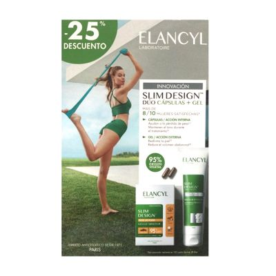 Elancyl Slim Design Duo Capsulas + Gel Reductor Tensor