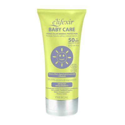 Elifexir Baby Care Crema Solar Spf50+ 100ml