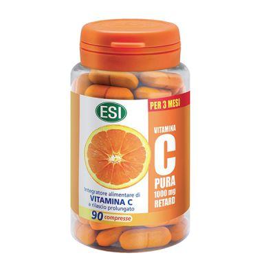 ESI Vitamina C Pura Retard 90 Cápsulas