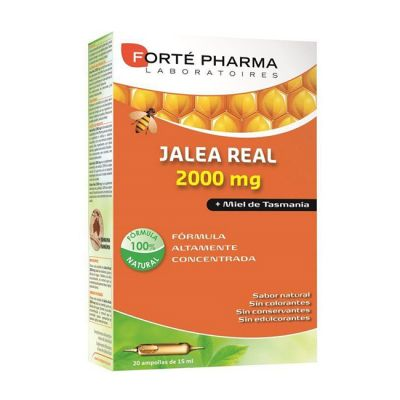 Forté Pharma Jalea Real 2000mg Bio 20 Ampollas