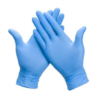 Guantes Nitrilo Azul Talla L 100 unidades